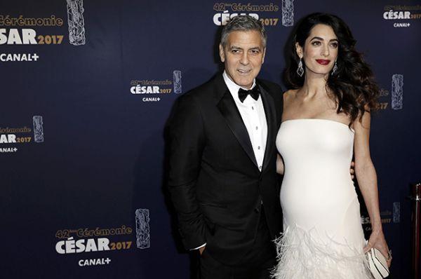 Специальную награду «Почётный Сезар» получил Джордж Клуни.