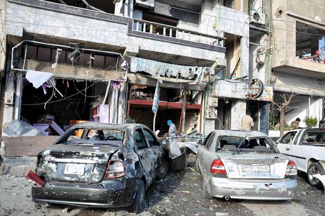 ВСирии 5 смертников взорвали бомбы, убив 42 человека