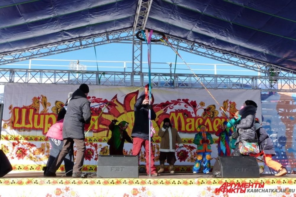 Камчатцы принимали участие в традиционных масленичных забавах.