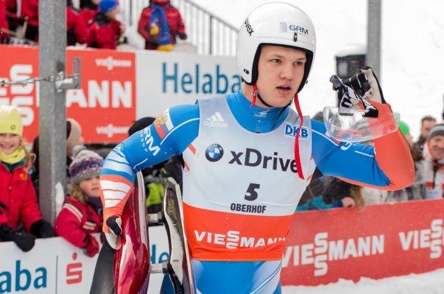 Саночник Репилов завоевал золото на Кубке мира в Альтенберге