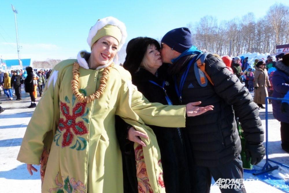 Масленичные гуляния прошли на биатлонном комплексе имени Виталия Фатьянова.
