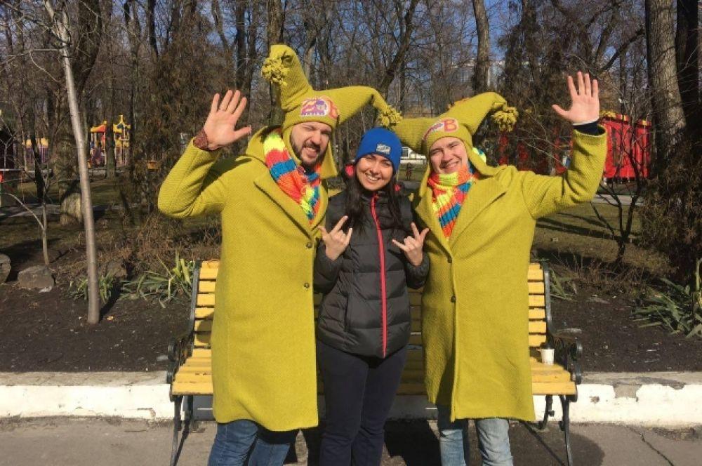 Ростовчане и гости донской столицы собрались в парке Октябрьской революции.