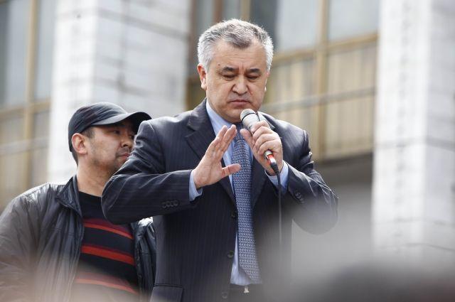 ВКиргизии задержали оппозиционного депутата