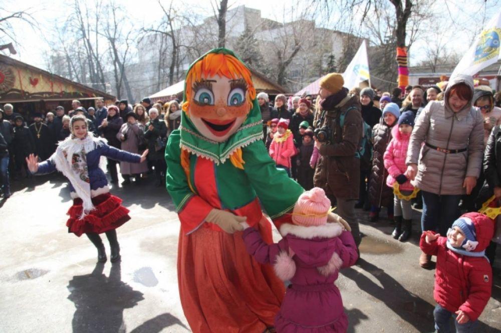 Ростовчан ожидала насыщенная культурная программа.