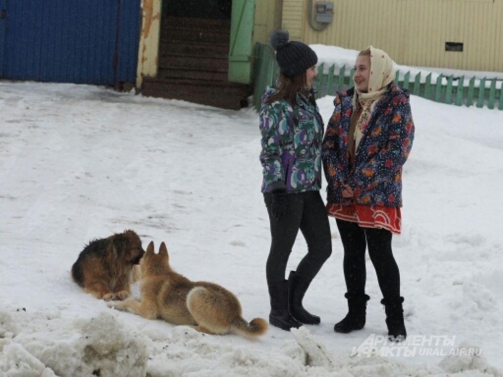 Масленица в селе Кага в Башкирии.