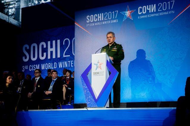 Руководитель CISM пришел ввосторг отВсемирных военных игр вСочи