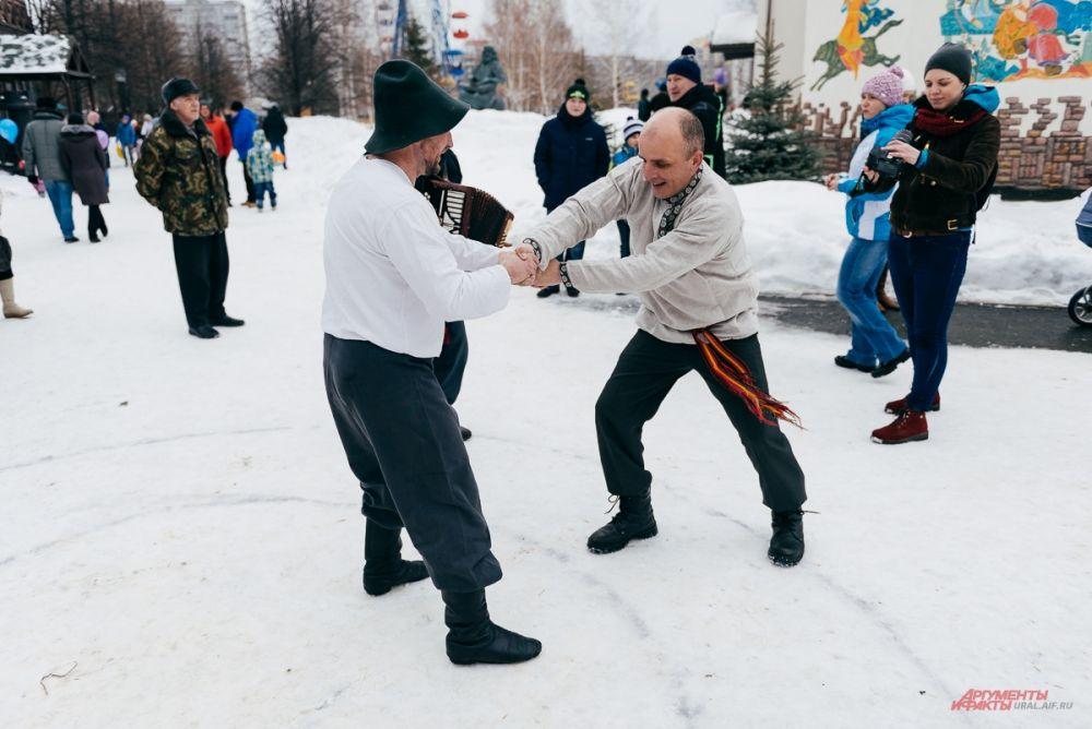 Масленица в Екатеринбурге, парк «Туринская слобода».