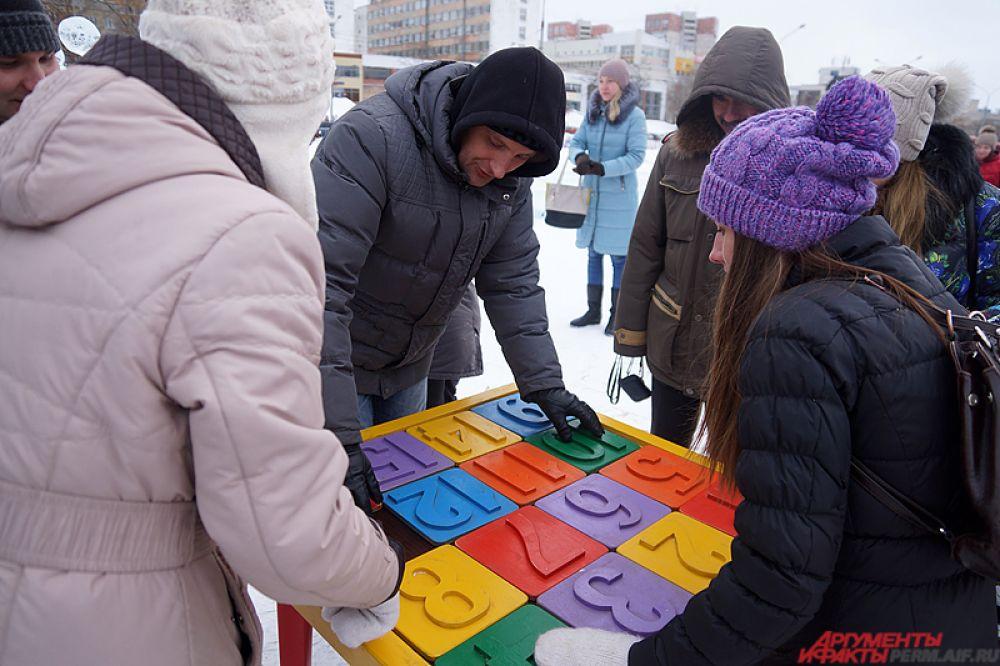 Рядом находилась игровая зона для детей.