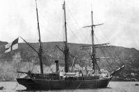 Шхуна «Заря» в Норвегии. 1899 год.