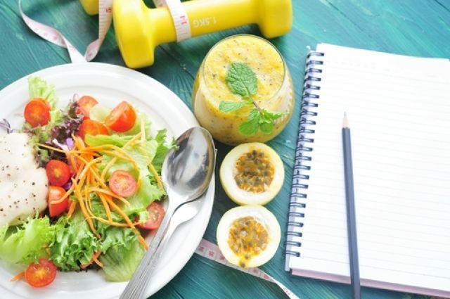 Дневник питания, водный баланс и обед в контейнере. Как есть, чтобы худеть  90f56341b1b