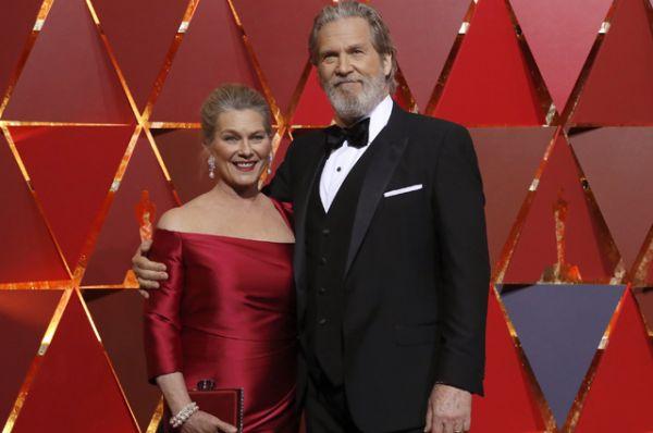 Джеф Бриджес с супругой.