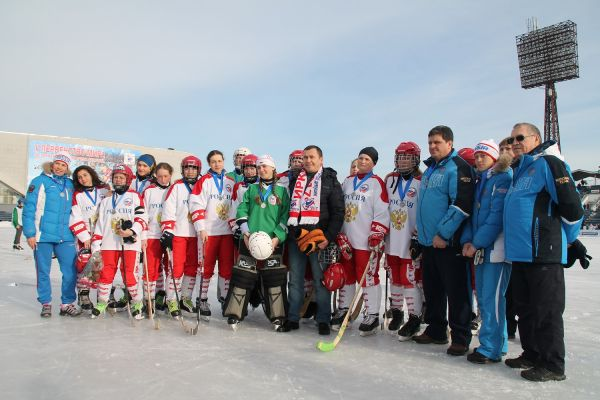 На соревнованиях присутствовал глава Иркутска.