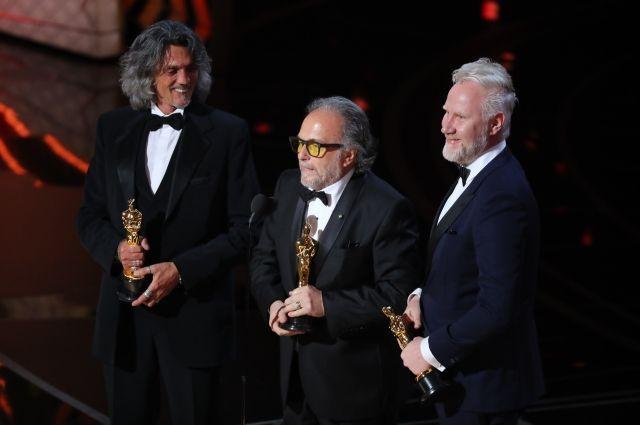 Фильмы «Отряд самоубийц» и«Фантастические твари» получили по«Оскару»