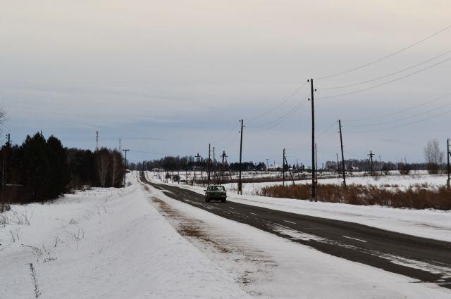 Подороге вЖелезногорск шофёр иномарки насмерть сбил мужчину