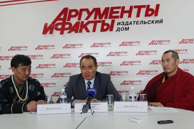 Виталий Балтаев, Александр Амагзаев и Зоригто Батуев