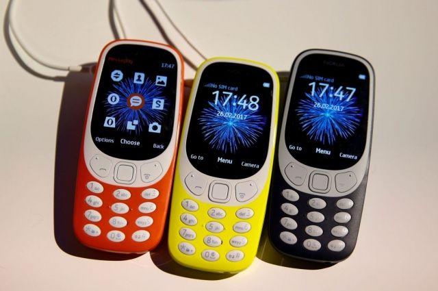 Обновленная модель Nokia 3310