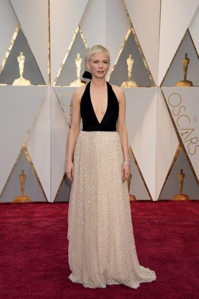 Мишель Уильямс остановила свой выбор на платье от Louis Vuitton
