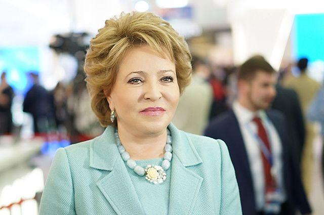 Матвиенко: РФ не стремится занять доминирующее положение на Ближнем Востоке