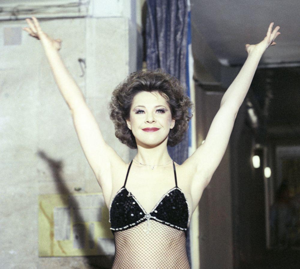 Гимнастка Полина в фильме «Мой любимый клоун» (1987).