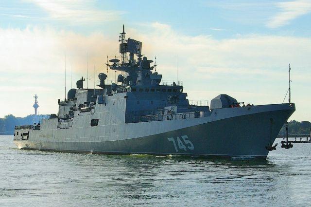«Адмирал Григорович» станет частью корабельной группы РФ в Средиземном море