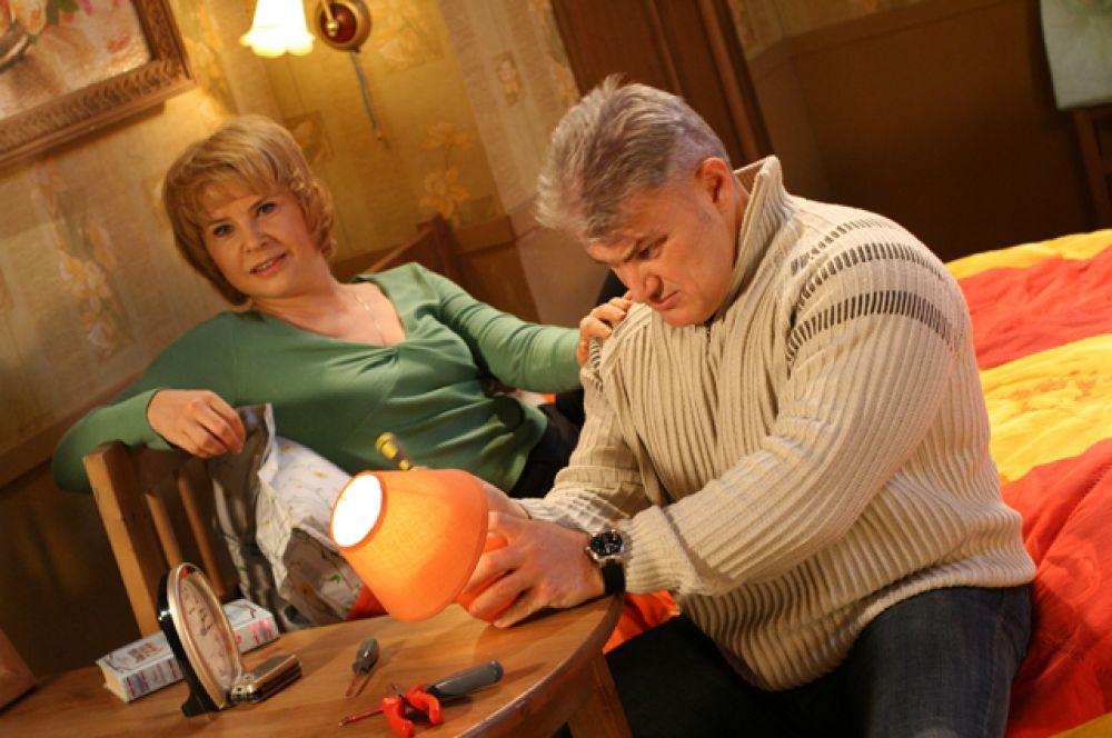 В роли Любы Орловой в телесериале «Люба, дети и завод…» (2005-2006).