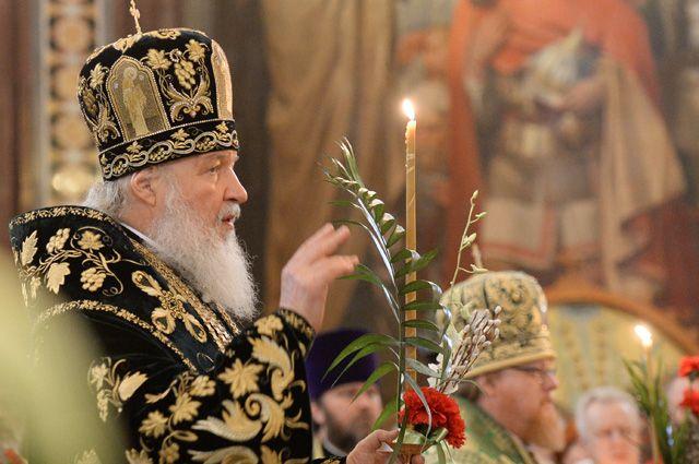 Патриарх Московский и всея Руси Кирилл.
