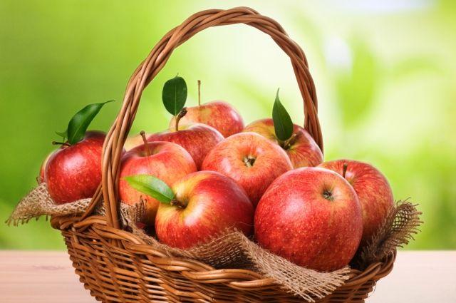 Яблоки с более ярким окрасом содержат больше полезных веществ