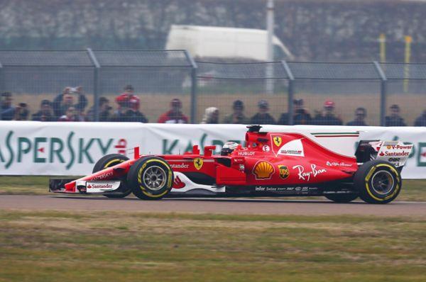 Ferrari SF70H1.
