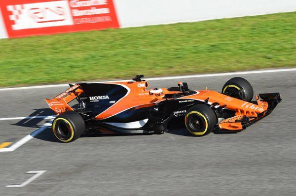 McLaren MCL32.