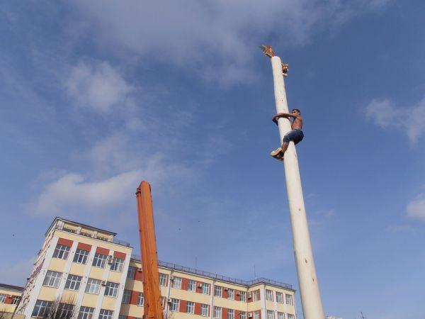 Празднование Масленицы в Клинцах.