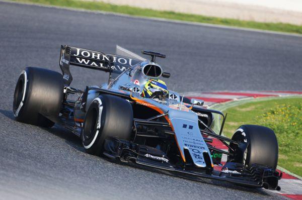 Force India VJM10.