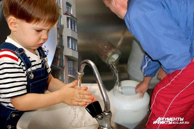 Пить мутную воду опасно для здоровья.