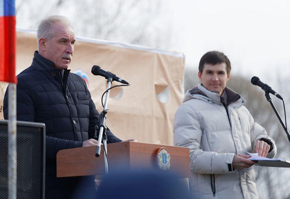 Фестиваль открыл лично губернатор Сергей Морозов