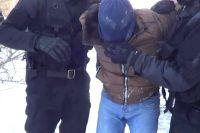 Задержание подозреваемого в мошенничестве в Иркутске.