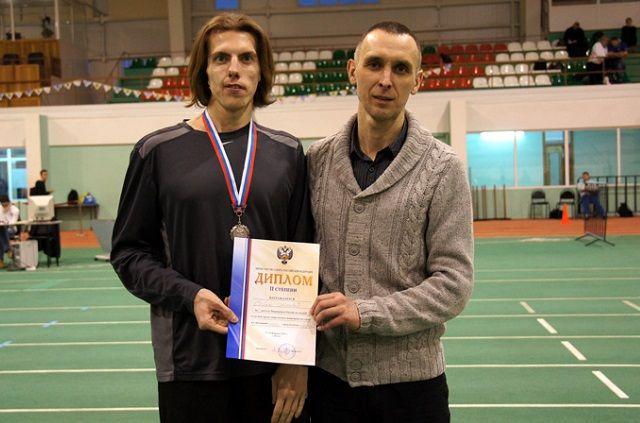Алексей Собин выиграл две медали на чемпионате России.