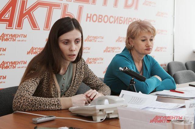 В редакции