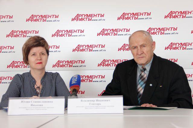 Юлия Янькова и Владимир Гонтарь