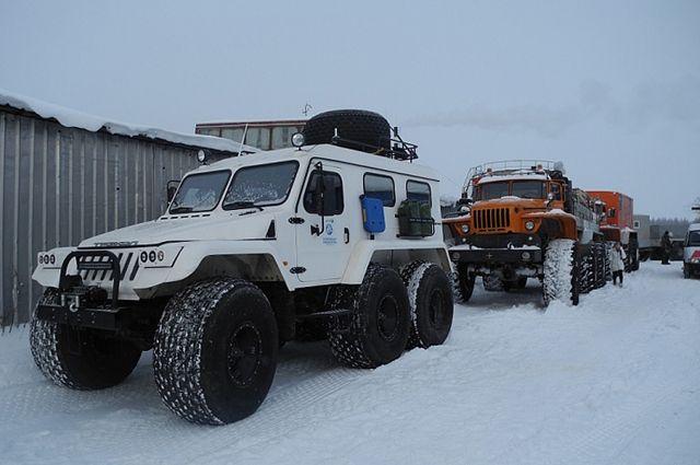 Экспедиция наостров Белый соберёт пробы снега для исследования атмосферных осадков