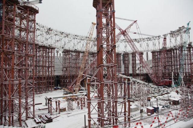 Наоткрытии стадиона «Нижний Новгород» члены руководства региона сыграют скомандой строителей