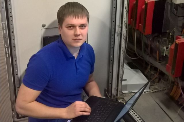 Сергей Войнов, инженер в отделе технического обслуживания оборудования компании «Юнилин»