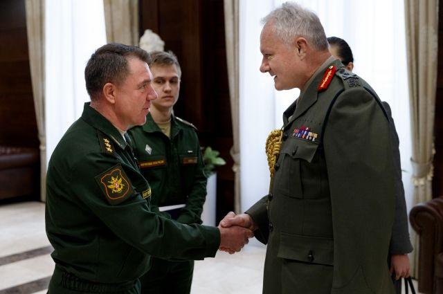 В столицеРФ встретились сотрудники генштабов Российской Федерации и Англии