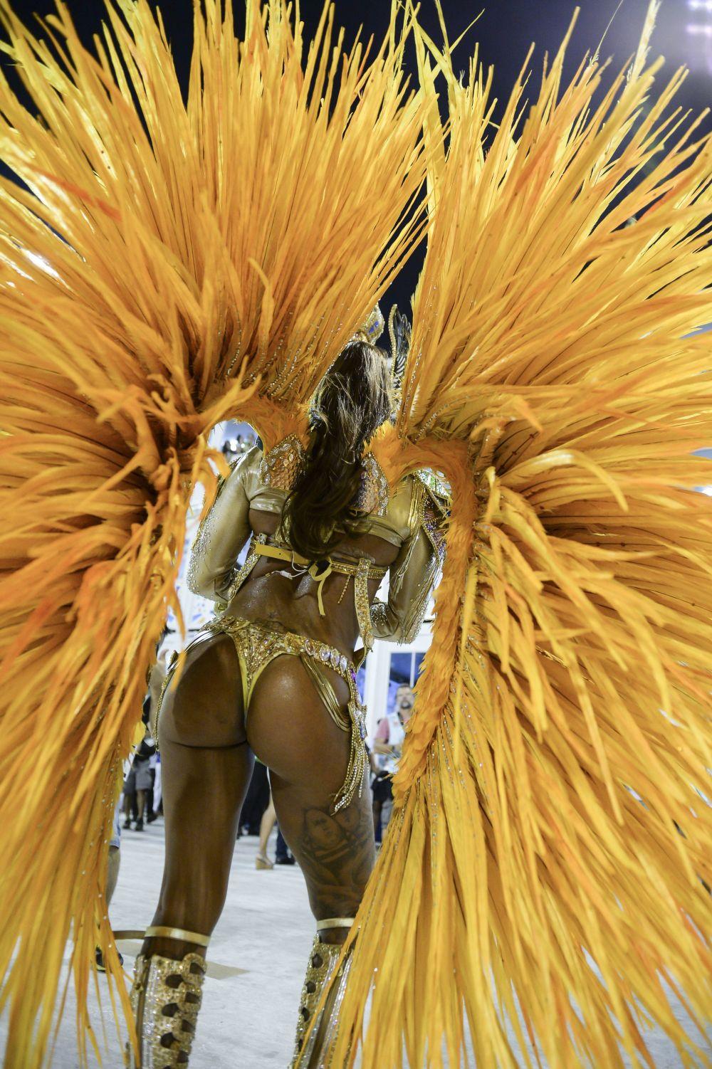За что множество туристов любят карнавал, так это за то, что там всегда танцует огромное количество фигуристых девушек в вызывающих вопиющих нарядах