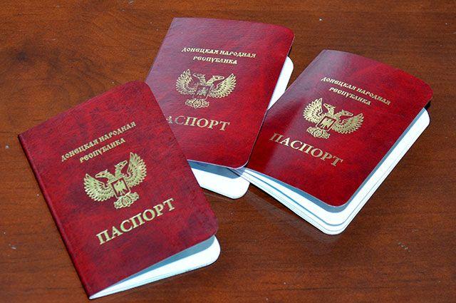 Паспорта граждан Донецкой Народной Республики (ДНР).