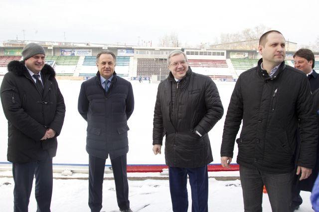 Вице-премьер правительства уверен, что все работы на стадионе будут выполнены в срок.