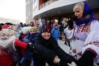 Новосибирцы вдоволь навеселились на Масленице!