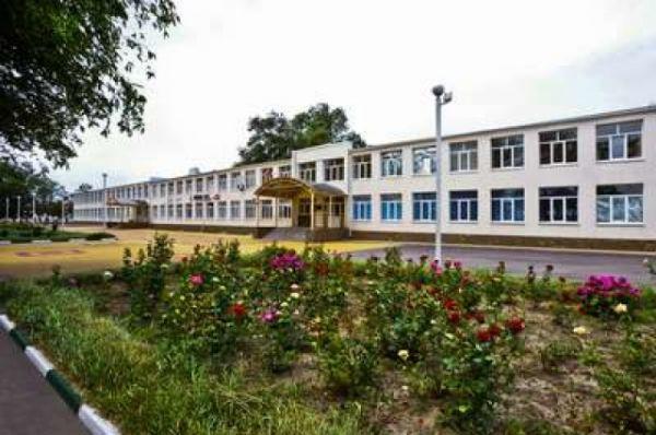 Здание среденй школы №4.