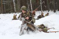 Новосибирцы воссоздали битву за Кавказ