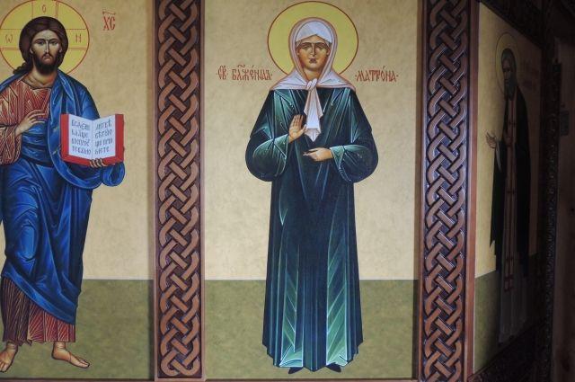 Икона иковчег смощами Матроны Московской прибудут вНижний Новгород