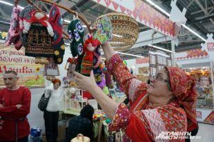 В одиннадцатый раз прошла в Перми ярмарка народных промыслов.