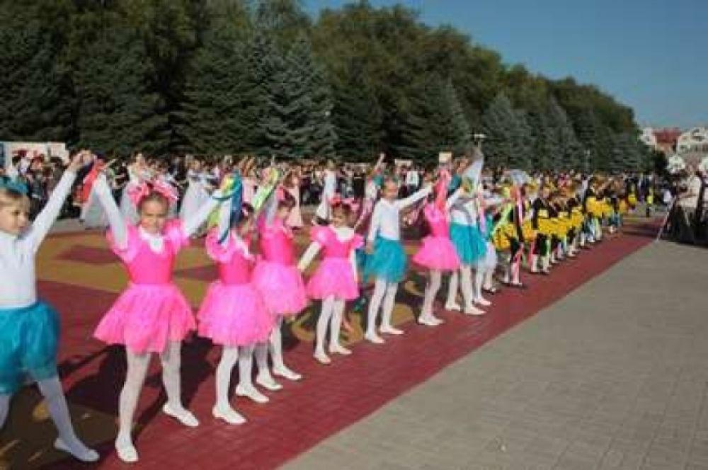 Батайчане празднуют День Победы.